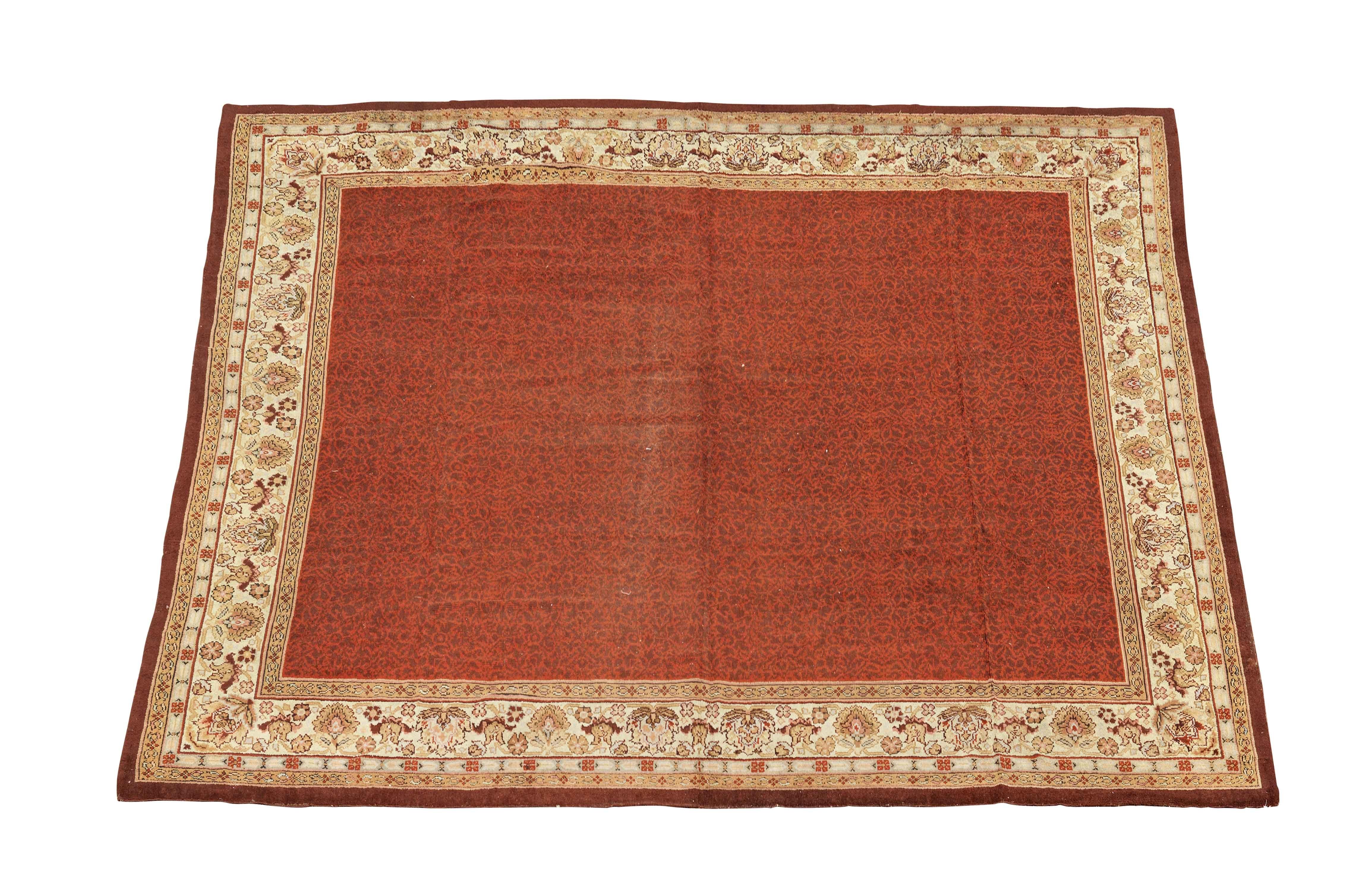 An impressive Axminster Carpet England 607cm x 579cm
