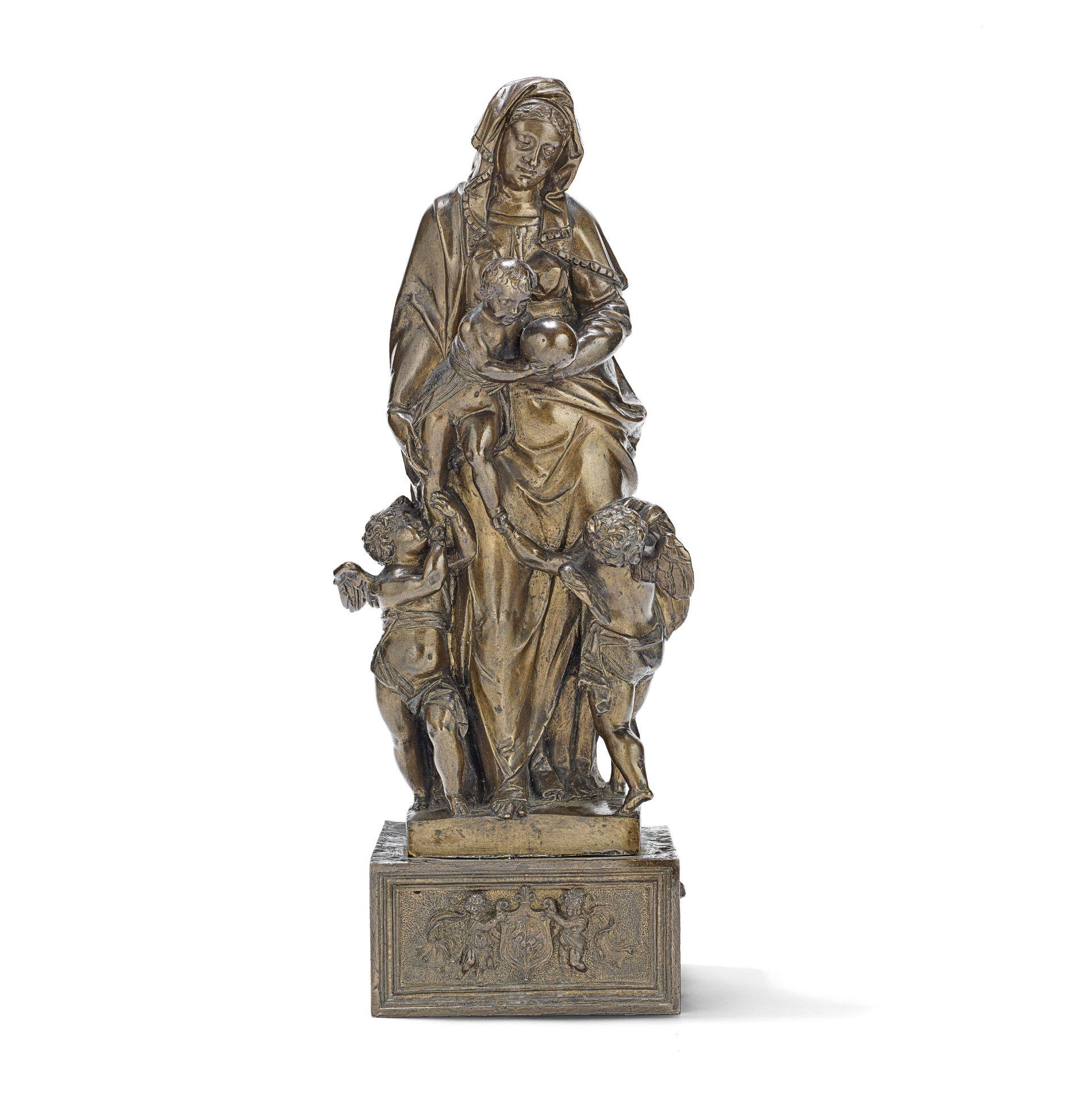 Workshop of Sebastiano Nicolino (Italian, active early/mid 17th century): A patinated bronze figu...