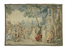 A charming Flemish tapestry after Philippe de Hondt probably 18th century 334cm x 238cm