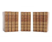 BINDINGS WORDSWORTH (WILLIAM) The Poetical Works, 11 vol. (including 'The Life'), Edinburgh, Will...
