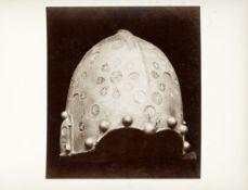 ARMS AND ARMOUR - BACHERAU An album of photographs of arms and armour, and the lavish interiors o...