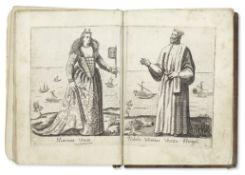 FABRI (ALESSANDRO) Diversarum nationum ornatus [-Diversar nationum habitus], vol. 1 and 2 (of 3) ...