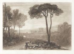 TURNER (JOSEPH MALLORD WILLIAM) Liber Studiorum, for the Author, [1807-1819]