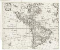 AMERICA SEILE (ANNE) Americae nova descriptio, [London], 1663
