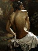 Emil Keck (German, 1867-1935) Gladiator (Painted in 1886)
