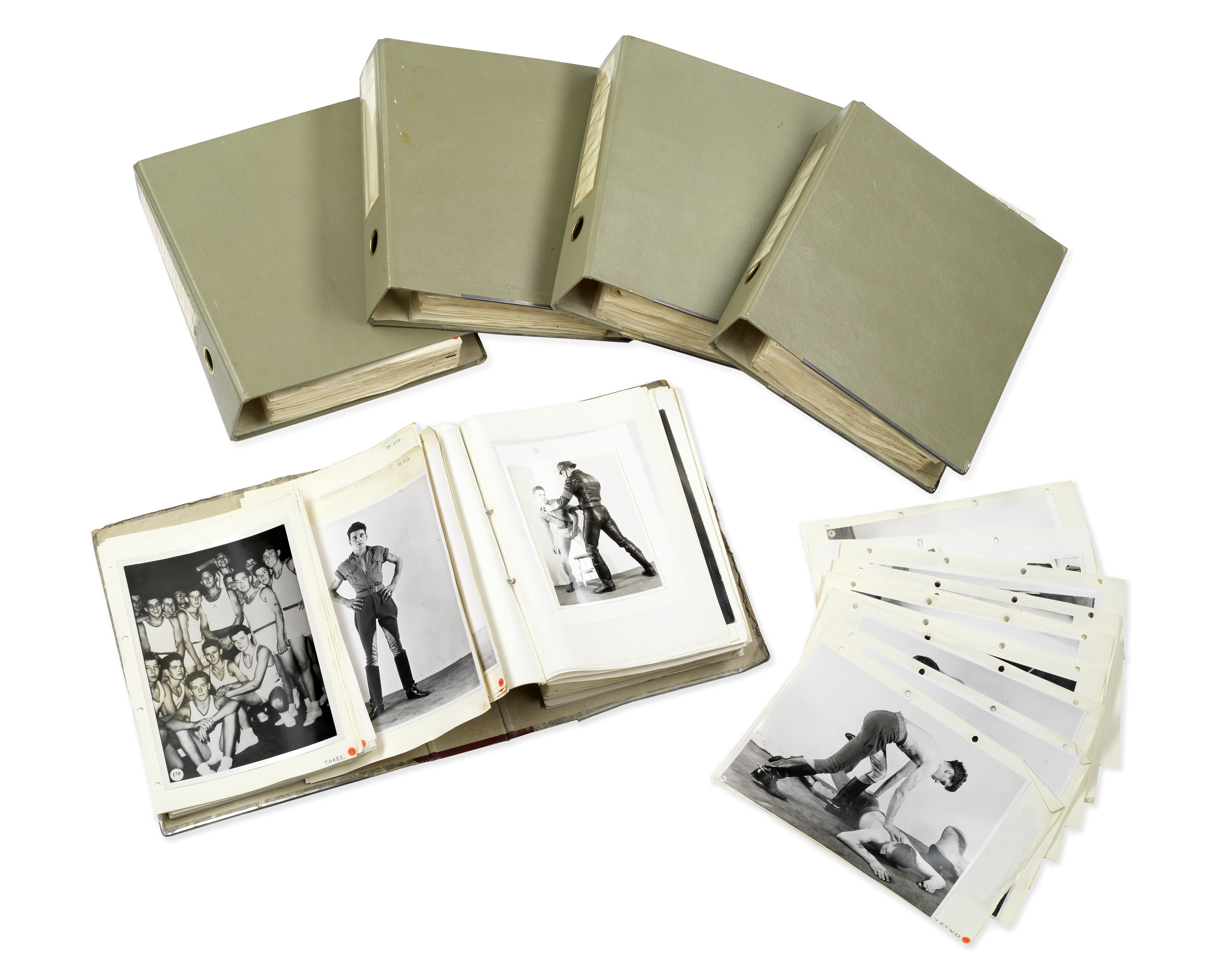 Basil Clavering (1910-1973) An archive of homoerotic photographs, 1950s-1960s the majority 24 x 1...