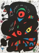 Joan Miró (1893-1983) Strindberg Mappen Lithograph in colours, 1976, on wove paper, signed ...