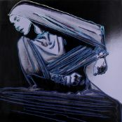 ANDY WARHOL (1928-1987) Lamentation from Martha Graham Screenprint in colours, 1986, on Lenox Mus...