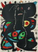 Joan Miró (1893-1983) Hommage aux Prix Nobel Lithograph in colours, 1976, on wove paper, si...