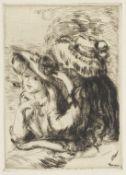 PIERRE-AUGUSTE RENOIR (1841-1919) Le Chapeau Épinglé, 1ère Planche Drypoint, 1894-...