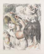 Pierre-Auguste Renoir (1841-1919) Le Chapeau Épinglé, 2ème Planche Lithograph in c...