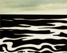 Roy Lichtenstein (1923-1997) Landscape 9 (Corlett 59) screenprint in colours with collage, 1967, ...