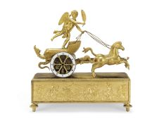 An early 19th century French ormolu mantel clock Lopin Palais Royal No.143