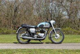 1961 Triumph 650cc Thunderbird Frame no. 11401 Engine no. 6T D11401