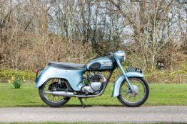 1963 Triumph 349cc 3TA Frame no. H31206 Engine no. 3TA H31206
