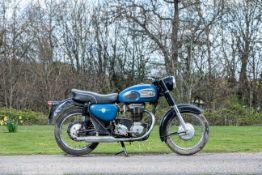 c.1960 AJS 348cc Model 16 Frame no. A85563 Engine no. 16/42534