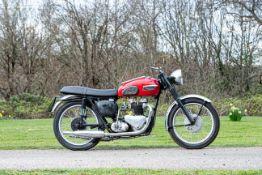 c.1955/1952 Triumph 650cc Thunderbird Project Frame no. 66835 Engine no. 6T 32014
