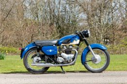 1960 AJS 646cc Model 31 Frame no. A68783 Engine no. 59/31L 09735