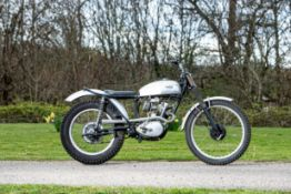 Triumph Tiger Cub 200cc Trials Motorcycle Frame no. T8059 Engine no. T20 68539