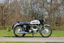 c.1961 Norton 596cc 'Dominator 99' (see text) Frame no. 92469 Engine no. 85487 15