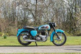 c.1958 BSA 646cc A10 Frame no. FA7 1621 (see text) Engine no. DA10 11221