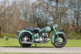 1952 Sunbeam 489cc S7 Frame no. S7 6166 Engine no. S7 298