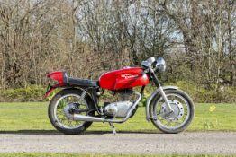 c.1966 Royal Enfield 248cc Continental GT Frame no. 72732 Engine no. GT15528