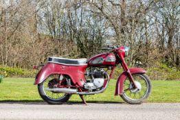 1960 Triumph 490cc 5TA Speed Twin Frame no. H19362 Engine no. 5TA H19362