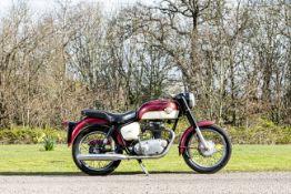1963 Royal Enfield 248cc Crusader Frame no. 16350 Engine no. 12870