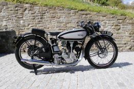 1937 Norton 490cc Model 30 International Frame no. 80556 Forks No. 38754 Engine no. 76069