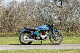 1969 Norton 646cc Mercury Frame no. 18 129302 Engine no. 18SS 129302