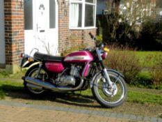 1972 Suzuki GT750J Frame no. GT750-31098 Engine no. GT750-38059
