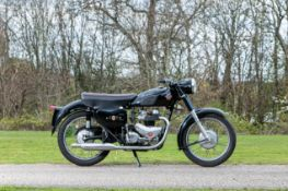 c.1957 Matchless 498cc G9 Frame no. 16117 (see text) Engine no. 57/G9 50345
