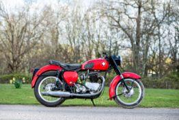 c.1958 Tri-BSA 650cc Frame no. 31509 Engine no. 6T 017892