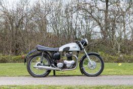 c.1959 Norton 596cc 'Dominator 99' (see text) Frame no. P13 80712 Engine no. 95938
