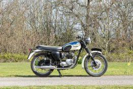 1967 Triumph 490cc T100T Tiger Frame no. T100T H54441 Engine no. T100T H54441