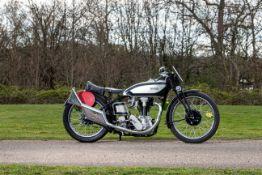 c.1937/1933 Norton 490cc International Model 30 Racing Motorcycle Frame no. 30 70530 Engine no. 5...