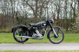c.1947 Matchless 348cc G3L (see text) Frame no. A63955 Engine no. 47 G3L 5641