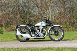 c.1938 Triumph 500cc Model 5/Tiger 90 (see text) Frame no. 8131U1 Engine no. 1.23.8748 (see text)