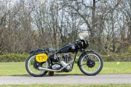 c.1938 Triumph 249cc Model 2H Racing Motorcycle Frame no. none visible Engine no. 8-2H 3S 11523