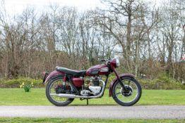 c.1957 Triumph 498cc Speed Twin Frame no. 06467 Engine no. 5T 08372