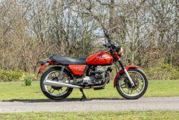 1982 Moto Guzzi 346cc V35 II Frame no. PD*16508* Engine no. PC *027233*