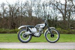 Triumph Tiger Cub 200cc Trials Motorcycle Frame no. 97737 Engine no. T20R 68091
