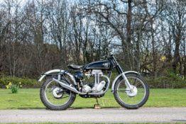 1958 AJS 348cc Model 16 Trials Frame no. 8185C Engine no. 58/16M 1965C