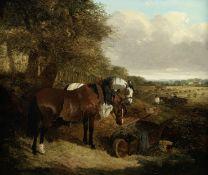 John Frederick Herring, Jnr. (British, 1815-1907) Harvest time
