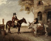 Abraham Cooper (British, 1787-1868) 'A Mule (the Property of Lord Holland) - and an Ass' (To be s...