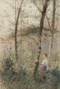 Hector Caffieri (British, 1847-1932) Hide and seek