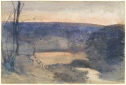 John William Inchbold (British, 1830-1888) Bolton from nature