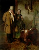 Henry Hetherington Emmerson (British, 1831-1895) 'The Cow Doctor'