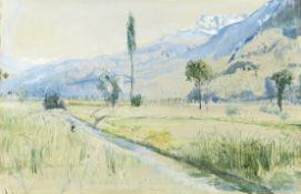 John William Inchbold (British, 1830-1888) Vouverie, France